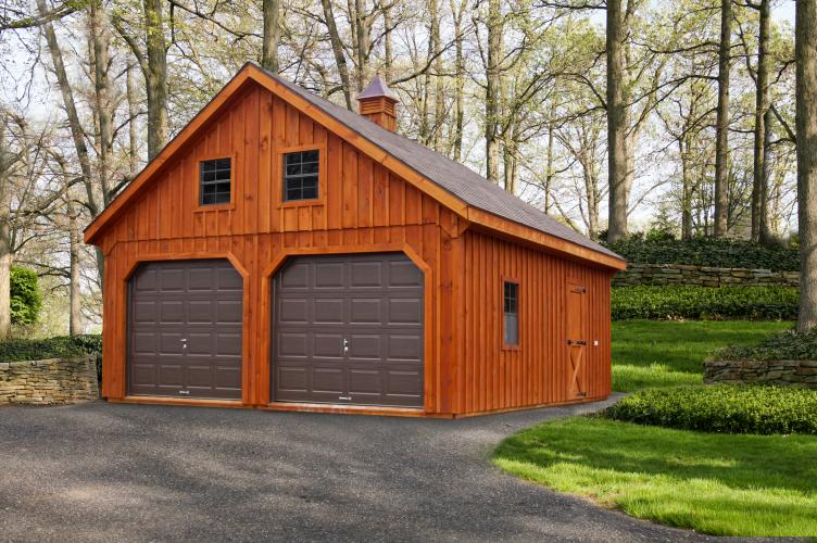 The amish group signature sheds for 3 bay shed