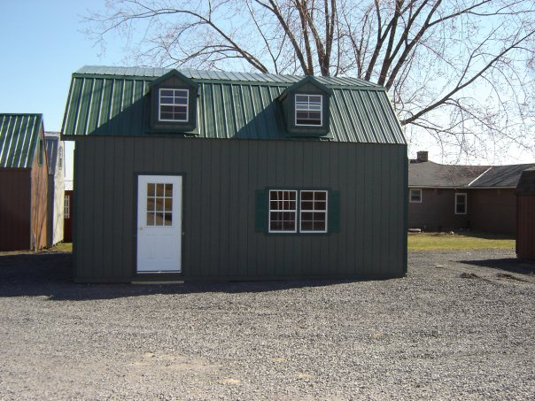 Double Wide Gambrel