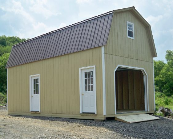 Single Wide Gambrel Two Story