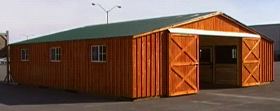 The Amish Group Horse Barns