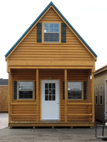 The amish group cabins for Two story log cabin kits