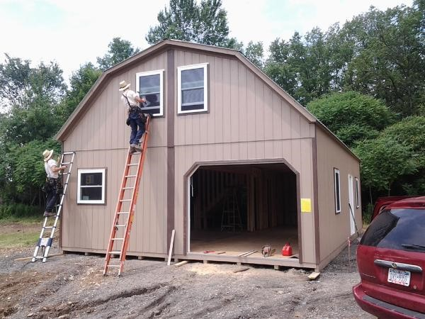 Built On Site Custom Amish Garages In Oneonta Ny: The Amish Group