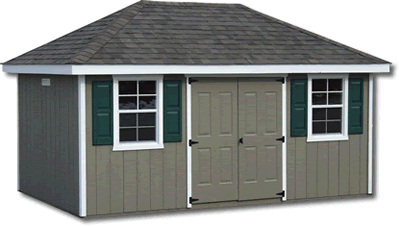 The Amish Group Storage Sheds